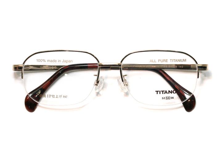 マルマン TITANOS(チタノス) T 1188-CGP(ゴールド)【メンズ】【男性用】