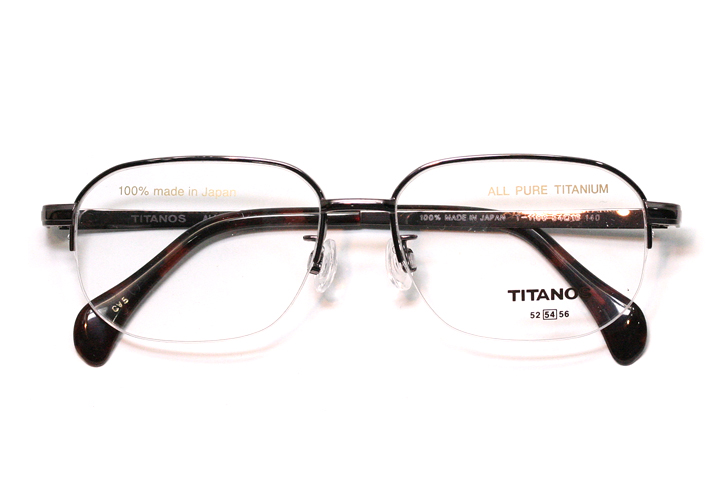 マルマン TITANOS(チタノス) T 1188-CV5(ブラウン)【メンズ】【男性用】