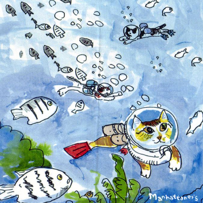 メガネ拭きとしての品質を追求し 最高級のクロスを使用 マンハッタナーズ メガネ拭き MX300MAN 13 人気の製品 MAN ワイピングクロス 国内送料無料 猫を主人公としたアート 日本製
