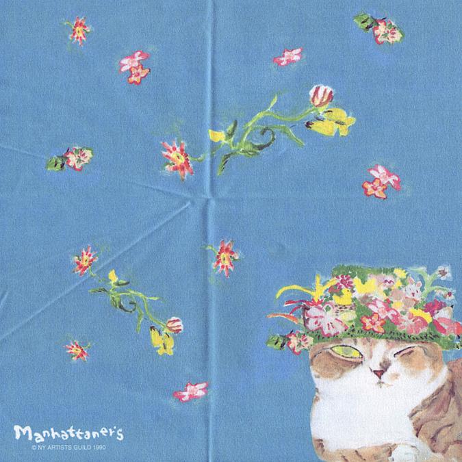 爆買いセール メガネ拭きとしての品質を追求し 最高級のクロスを使用 マンハッタナーズ ☆最安値に挑戦 メガネ拭き MX300MAN 猫を主人公としたアート ワイピングクロス 24 日本製 MAN