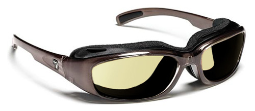 【7EYE】 サングラス SPF100シリーズ CHURADAセブンアイ チュラダ ブラウンクリスタルフレームNXT調光レンズ デイナイト