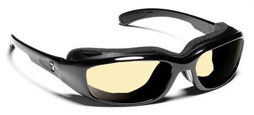 【7EYE】 サングラス SPF100シリーズ CHURADAセブンアイ チュラダ グロッシーブラックフレームNXT調光レンズ デイナイト