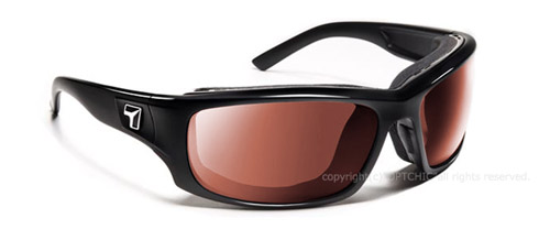 【7eye】サングラス SPF100シリーズ PANHEAD セブンアイ パンヘッド グロッシーブラックフレーム NXTレンズ コントラストピンク