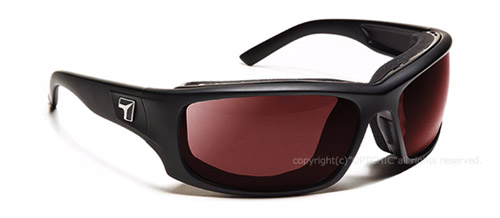 【7eye】サングラス SPF100シリーズ PANHEAD セブンアイ パンヘッド マットブラックフレーム NXT調光偏光レンズ グレーローズ