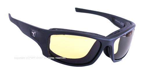 【7eye】サングラス SPF100シリーズ PANHEADマットブラック NXT調光デイナイト