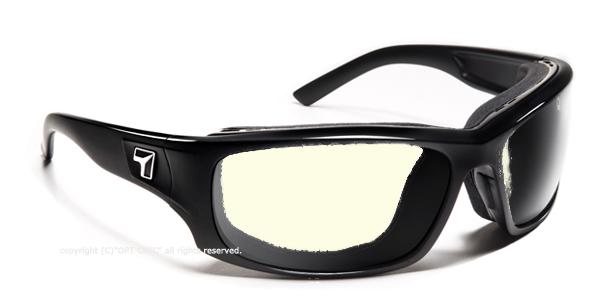 【7eye】サングラス SPF100シリーズ PANHEADグロッシーブラック NXT調光デイナイト
