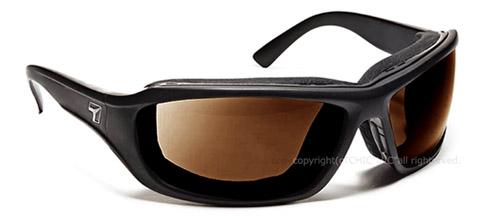 【7eye】サングラス SPF100シリーズ DERBYセブンアイ ダービー マットブラックフレーム NXTレンズ クリスプアンバー