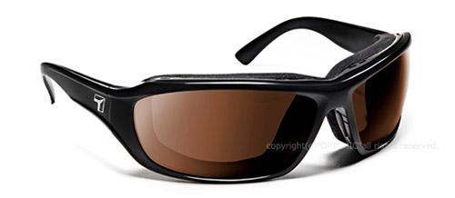 【7eye】サングラス SPF100シリーズ DERBYセブンアイ ダービー グロッシーブラックフレーム NXTレンズ クリスプアンバー