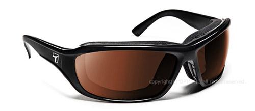 【7eye】サングラス SPF100シリーズ DERBYセブンアイ ダービー グロッシーブラックフレーム NXTレンズ リアクトコパー