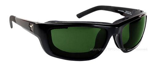 【7eye】サングラス SPF100シリーズ VENTUSセブンアイ ヴェントス グロッシーブラックフレーム NXT偏光レンズ ミスティグリーン