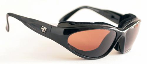 【7eye】サングラス SPF100シリーズ CAPEセブンアイ ケープ グロッシーブラックフレーム シャープビューコパーレンズ