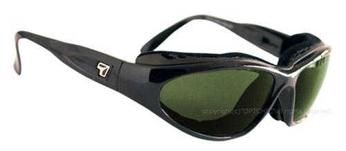 【7eye】サングラス SPF100シリーズ CAPEセブンアイ ケープ グロッシーブラックフレーム NXT偏光レンズ ミスティグリーン