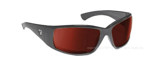 【7eye】サングラス SPF100シリーズ TAKU PLUS マットブラックフレーム NXTレンズ リアクトコパー