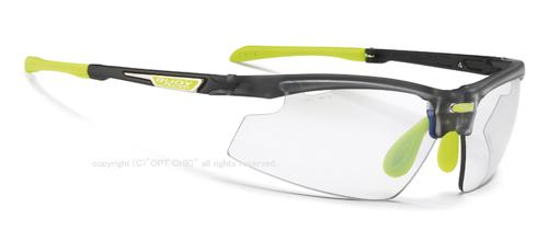 RUDY PROJECT SYNFORMルディプロジェクト スポーツサングラス シンフォーム アイスグラファイトフレーム インパクトX2調光レーザーブラウン