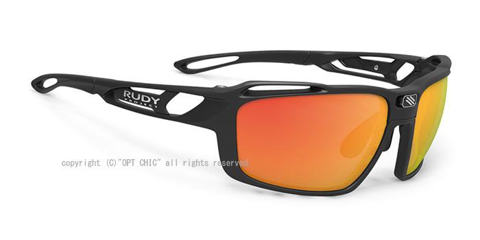 RUDY PROJECT SINTRYX 3FX HDR 偏光 ルディプロジェクト シントリックス マットブラック マルチレーザーオレンジサングラス