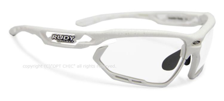 RUDY PROJECT FOTONYK PROTECTルディプロジェクト フォトニック プロテクト ホワイトカーボンフレーム クリアスペアレンズ・スモークブラック付属
