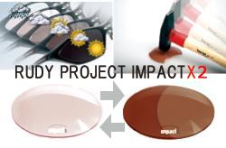 RUDY PROJECT ルディプロジェクトAGONアゴン インパクトX2レーザーブラウン調光スペアレンズ