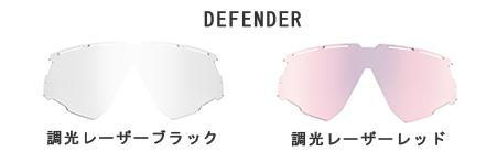 RUDY PROJECT ルディプロジェクトDEFENDER ディフェンダ インパクトX2レーザー調光スペアレンズ