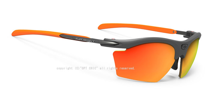 2019年NEW RUDY PROJECT RYDON SLIM偏光 Polar 3FX HDRルディプロジェクト スポーツサングラスライドン スリム グラファイトフレーム  マルチレーザーオレンジ