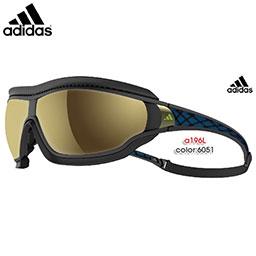 【送料無料】adidas スポーツサングラス tycane pro outdoor a196L カラー:6051【今ならストラップコードプレゼント】