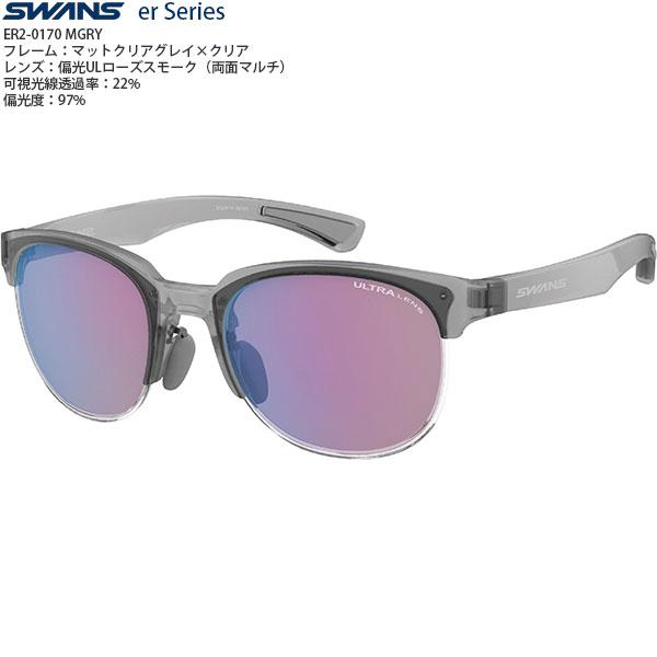 【送料無料】SWANS機能レンズサングラスER2-0170Color;MGRY【偏光レンズ】