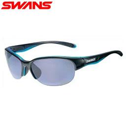 【送料無料】SWANS 女性向けスポーツサングラス LUNA-P 偏光レンズ LN-0067 BKBL