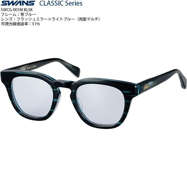 【送料無料】SWANS CLASSIC Seriesファッションサングラス SWCG-001M color:BLSK