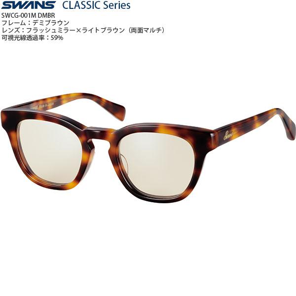 【送料無料】SWANSCLASSICSeriesファッションサングラスSWCG-001Mcolor:DMBR