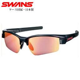 幅広いスポーツに対応したサングラス【送料無料】SWANS スポーツサングラス LION SIN レッドシャドーミラー×スモーク LI SIN-1701 BK