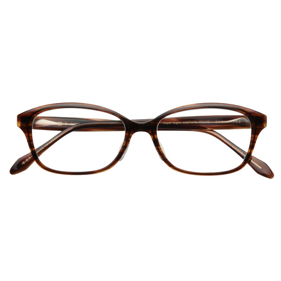 LUCERA Slim type ウェリントン LUC08-2313 ブラウン【メガネフレームのみ】