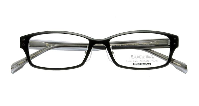 【VERYコラボ同型】メガネ LUCERAスクエアモデル LUC-1005 ブラック