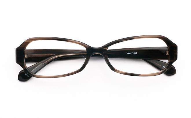 メガネ度付き/度なし YA691 3ダークオリーブ(メガネケース・メガネ拭き付) メガネ/めがね/眼鏡/度付きメガネ/度入り/伊達メガネ/セルフレーム/セル