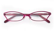 【送料無料】メガネ度付き/度なし LJ008 3ワインレッド【薄型レンズ追加料金0円】(メガネケース・メガネ拭き付) メガネ/めがね/眼鏡/度付きメガネ/度入り/伊達メガネ/眼鏡フレーム