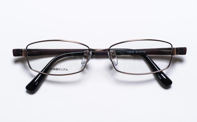 【送料無料】【薄型非球面レンズUVカット付き】「BJ006 2(BR)ブラウン」(メガネケース・メガネ拭き付) メガネ/めがね/眼鏡/度付きメガネ/度入り/度なし/伊達メガネ/眼鏡フレーム