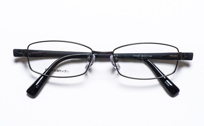 【送料無料】【薄型非球面レンズUVカット付き】「BJ006 3(GUN)ガンメタル」(メガネケース・メガネ拭き付) メガネ/めがね/眼鏡/度付きメガネ/度入り/度なし/伊達メガネ/眼鏡フレーム
