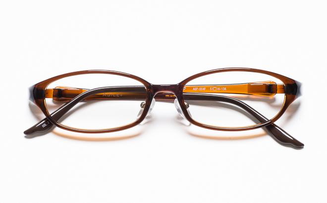 【送料無料】メガネ度付き/度なし AGILE+ アジーレプラス AGP-004F 2BRブラウン【薄型レンズ追加料金0円】(メガネケース・メガネ拭き付) メガネ/めがね/眼鏡/度付きメガネ/度入り/伊達メガネ
