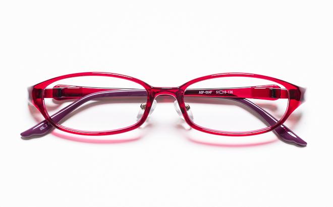 【送料無料】メガネ度付き/度なし AGILE+ アジーレプラス AGP-004F 3PKピンク【薄型レンズ追加料金0円】(メガネケース・メガネ拭き付) メガネ/めがね/眼鏡/度付きメガネ/度入り/伊達メガネ
