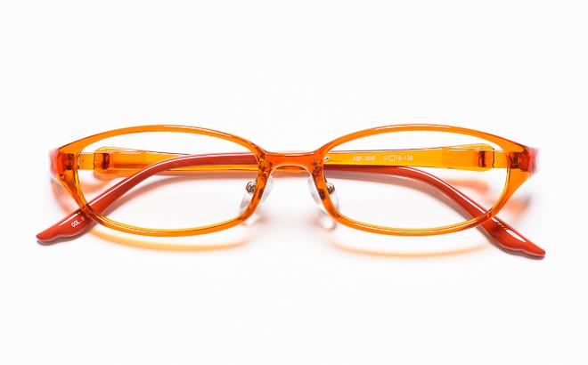 【送料無料】メガネ度付き/度なし AGILE+ アジーレプラス AGP-004F 6ORオレンジ【薄型レンズ追加料金0円】(メガネケース・メガネ拭き付) メガネ/めがね/眼鏡/度付きメガネ/度入り/伊達メガネ