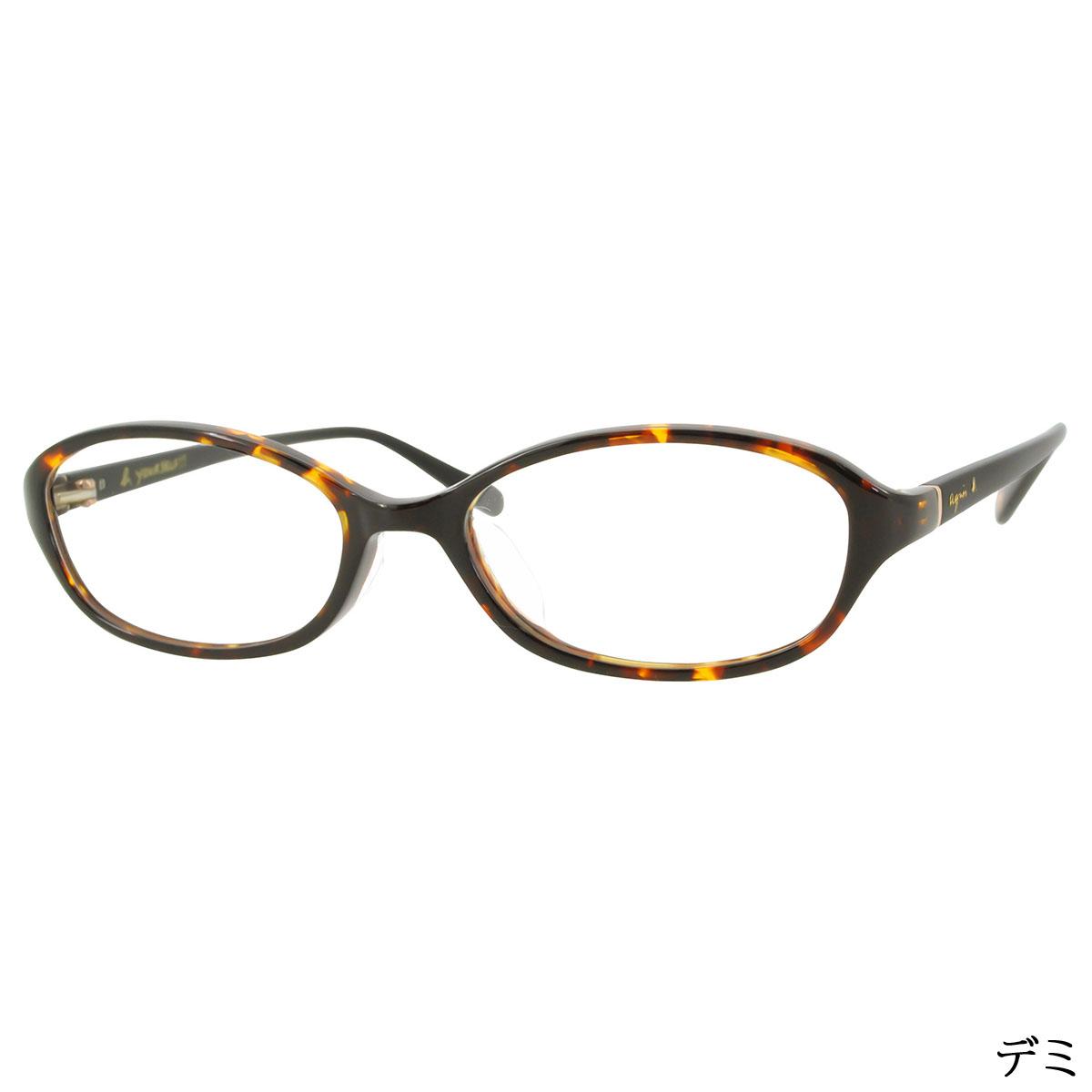 agnes b. 50-0013 レディース/メガネ/めがね/眼鏡/度付きメガネ/度入り/伊達メガネ