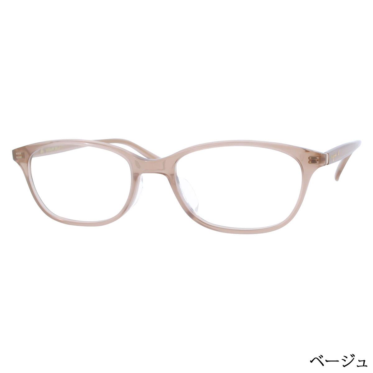 agnes b. 50-0014 レディース/メガネ/めがね/眼鏡/度付きメガネ/度入り/伊達メガネ