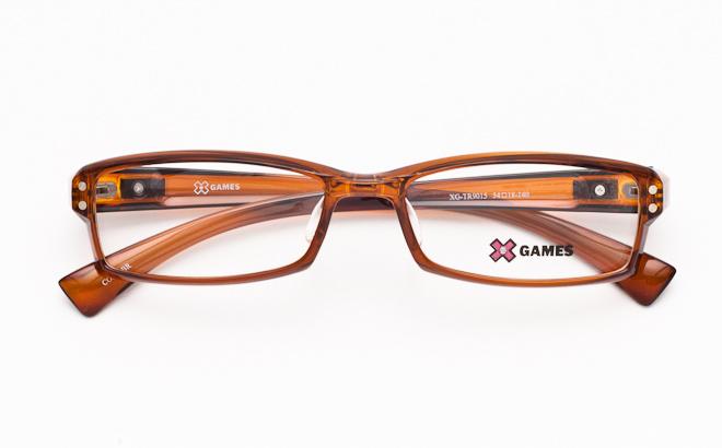 【送料無料】メガネ度付き/度なし AirFit XGAMES エアフィット エックスゲーム 9015 3ブラウン(TR90フレーム)【薄型レンズ追加料金0円】(メガネケース・メガネ拭き付) メガネ/めがね/眼鏡/度付きメガネ/度入り/伊達メガネ