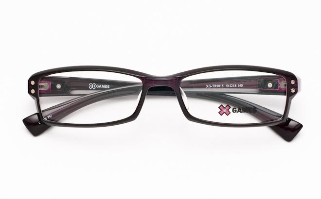 【送料無料】メガネ度付き/度なし AirFit XGAMES エアフィット エックスゲーム 9015 5パープル(TR90フレーム)【薄型レンズ追加料金0円】(メガネケース・メガネ拭き付) メガネ/めがね/眼鏡/度付きメガネ/度入り/伊達メガネ