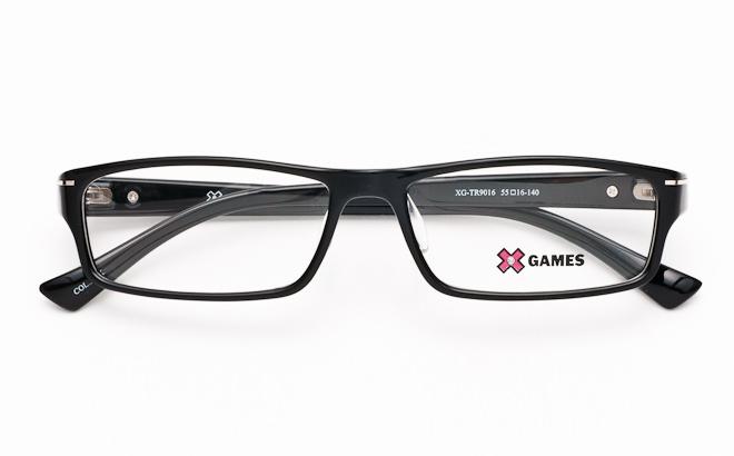 【送料無料】メガネ度付き/度なし AirFit XGAMES エアフィット エックスゲーム 9016 3ブラック(TR90フレーム)【薄型レンズ追加料金0円】(メガネケース・メガネ拭き付) メガネ/めがね/眼鏡/度付きメガネ/度入り/伊達メガネ