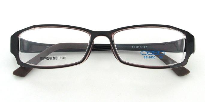 【送料無料】メガネ度付き/度なし AirFit2 OSSO エアフィットツー オッソ SS-2030 3ブラウン(TR90フレーム)【薄型レンズ追加料金0円】(メガネケース・メガネ拭き付) メガネ/めがね/眼鏡/度付きメガネ/度入り/伊達メガネ