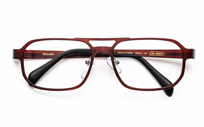 【送料無料】メガネ度付き/度なし Betapla MultiView ベータプラマルチビューモデル 14-9002 1BRブラウン【薄型レンズ追加料金0円】(メガネケース・メガネ拭き付) メガネ/めがね/眼鏡/度付きメガネ/伊達メガネ