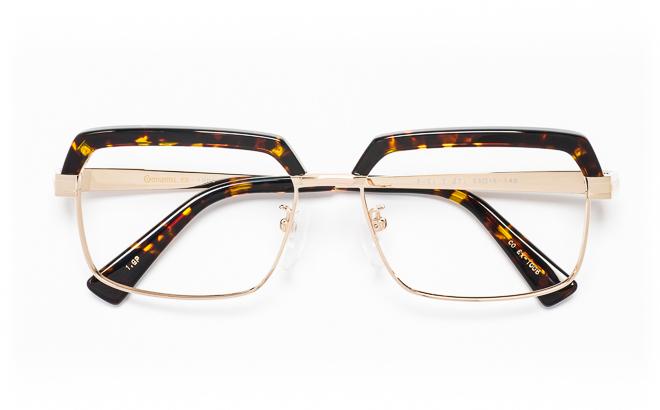 【送料無料】メガネ度付き/度なし CONTINENTAL EX コンチネンタルEX CO EX-1006 1(GP)ゴールド【薄型レンズ追加料金0円】(メガネケース・メガネ拭き付) メガネ/めがね/眼鏡