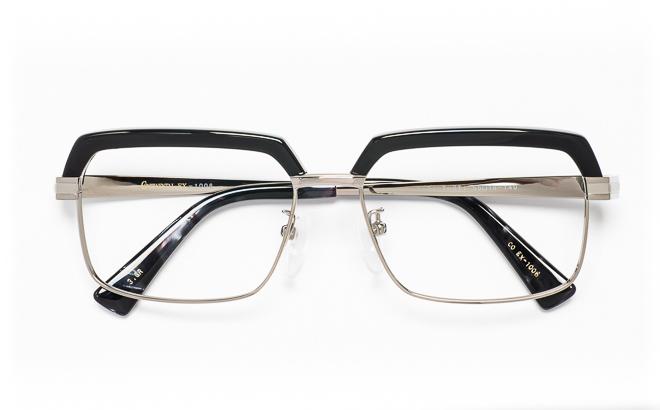 【送料無料】メガネ度付き/度なし CONTINENTAL EX コンチネンタルEX CO EX-1006 3(GR)グレー【薄型レンズ追加料金0円】(メガネケース・メガネ拭き付) メガネ/めがね/眼鏡/度付きメガネ/度入り/伊達メガネ