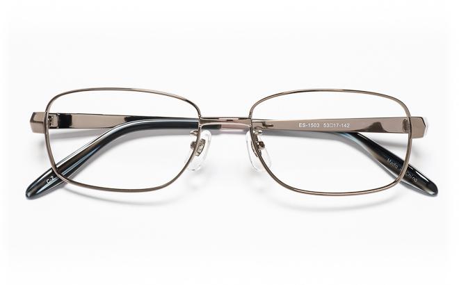 【送料無料】メガネ度付き/度なし ESSEエッセ ES-1503 2(GR)グレー【薄型レンズ追加料金0円】(メガネケース・メガネ拭き付) メガネ/めがね/眼鏡/度付きメガネ/度入り/伊達メガネ/眼鏡フレーム
