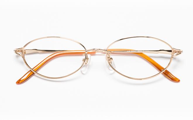 【送料無料】メガネ度付き/度なし ESSEエッセ ES-2501 1(GP)ゴールド【薄型レンズ追加料金0円】(メガネケース・メガネ拭き付) メガネ/めがね/眼鏡/度付きメガネ/度入り/伊達メガネ/眼鏡フレーム