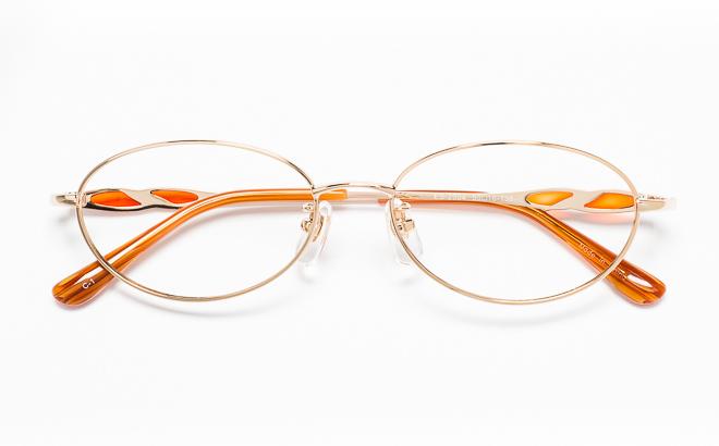 【送料無料】メガネ度付き/度なし ESSEエッセ ES-2504 1(GP)ゴールド【薄型レンズ追加料金0円】(メガネケース・メガネ拭き付) メガネ/めがね/眼鏡/度付きメガネ/度入り/伊達メガネ/眼鏡フレーム